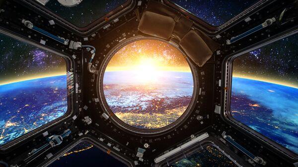 Pogled na Zemlju sa MSS - Sputnik Srbija