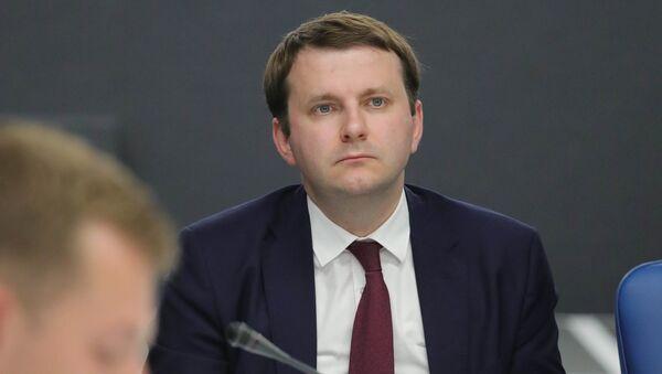 Министар за економски развој Русије Максим Орешкин - Sputnik Србија