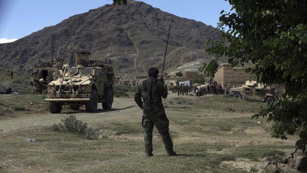Америчке снаге и авганистански командоси у округу Ачин у Авганистану - Sputnik Србија