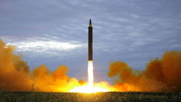 Lansiranje severnokorejske rakete dugog dometa - Sputnik Srbija
