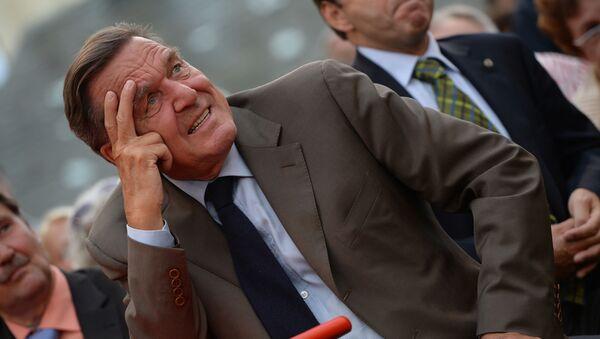 Бывший федеральный канцлер Германии Герхард Шредер - Sputnik Србија