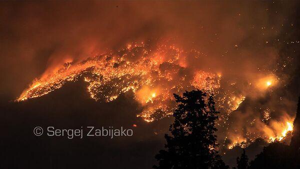 Požar u Baru - Sputnik Srbija