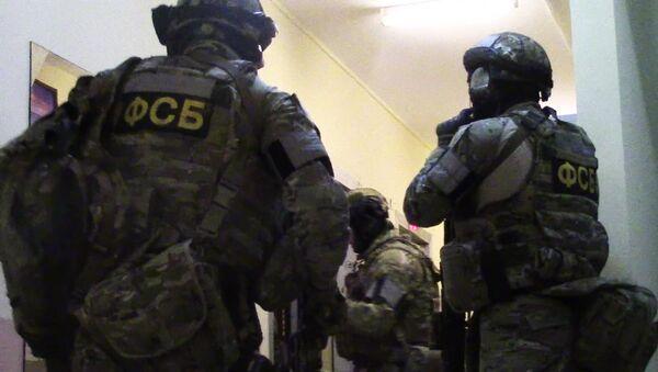 Припадници ФСБ током противтерористичке операције - Sputnik Србија