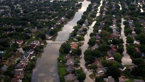 Poplavnjen grad Hjuston, Teksas. - Sputnik Srbija