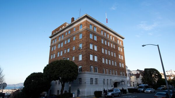 Руски генерлани конзулат у Сан Франциску, Калифорнија - Sputnik Србија