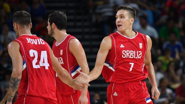 Reprezentativci Srbije Jović i Bogdanović - Sputnik Srbija