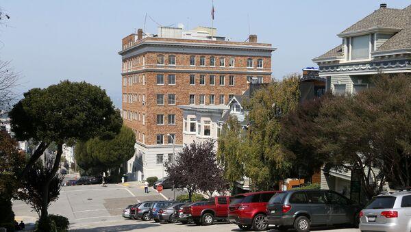 Зграда руског конзулата у Сан Франциску - Sputnik Србија
