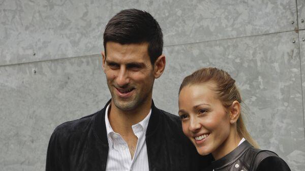 Novak i Jelena Đoković - Sputnik Srbija