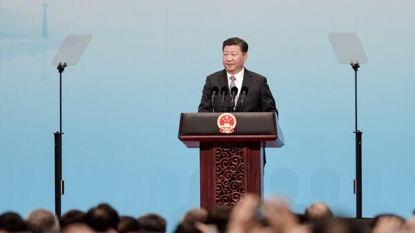 Председник Кине Си Ђинпинг на отварању самита БРИКС-а у Сјамену - Sputnik Србија