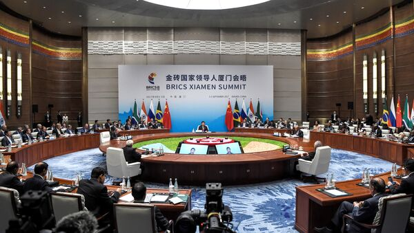 Plenarna sednica samita lidera BRIKS-a u Sjamenu - Sputnik Srbija