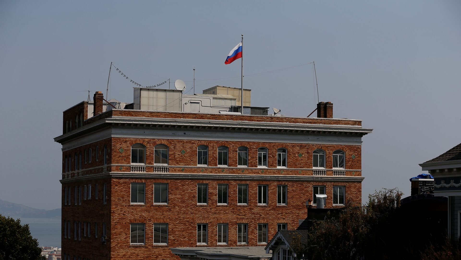 Zgrada ruskog konzulata u San Francisku - Sputnik Srbija, 1920, 03.02.2021