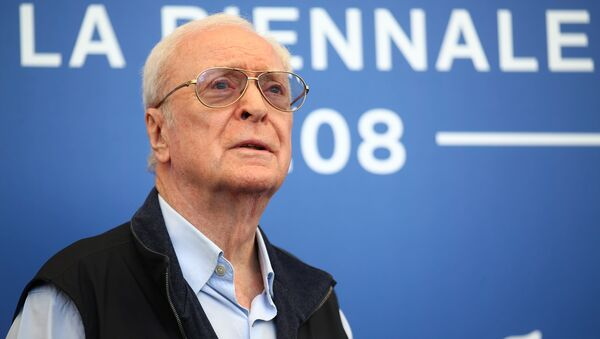 Мајкл Кејн на Венецијанском филмском фестивалу. - Sputnik Србија