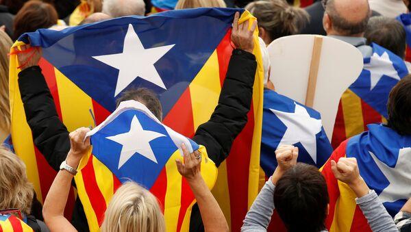 Katalonska separatistička zastava - Sputnik Srbija
