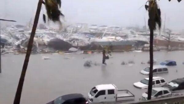 Последице удара урагана Ирма на Сен Мартину - Sputnik Србија
