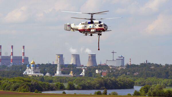 Helikopter Ka-32 Ministarstva za vanredne situacije Rusije. - Sputnik Srbija