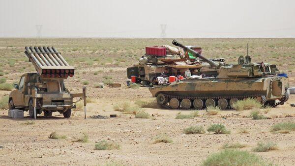 Sirijska vojska u blizini Dejr el Zora - Sputnik Srbija