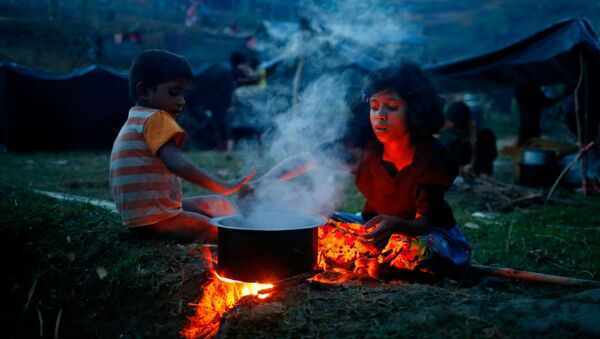 Izbeglice iz Mjanmara u Bangladešu - Sputnik Srbija