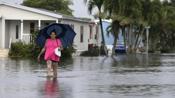 Потопљено насеље на Флориди као последица урагана Ирма - Sputnik Србија