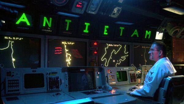 Амерички официр за радаром - Sputnik Србија
