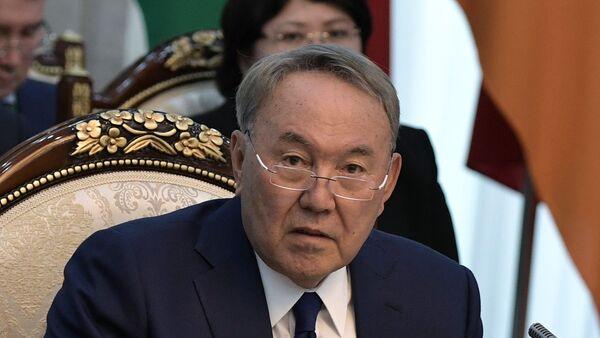 Председник Казахстана Нурсултан Назарбајев - Sputnik Србија