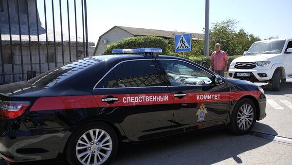 Аутомобил Истражног комитета Русије - Sputnik Србија