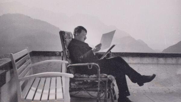 Адолф Хитлер у Бергхофу. - Sputnik Србија