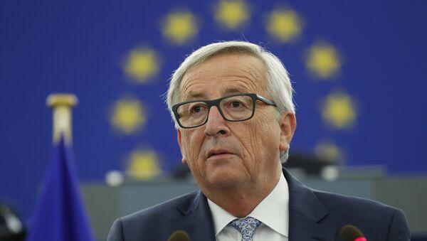 Šef Evropske komisije Žan-Klod Junker obraća se članovima Evropskog parlamenta u Strazburu - Sputnik Srbija