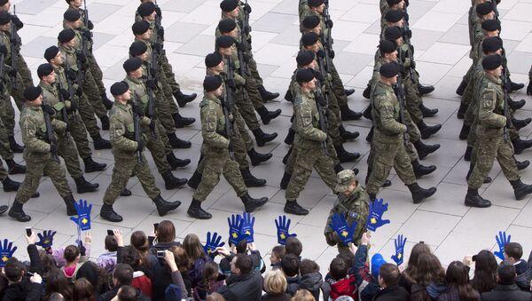 Безбедносне снаге самопроглашене републике Косово / - Sputnik Србија
