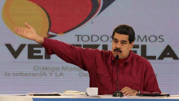 Predsednik Venecuele Nikolas Maduro obraća se naciji - Sputnik Srbija
