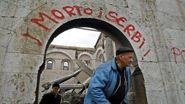 Срушена српска црква у Призрену - Sputnik Србија