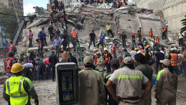 Земљотрес у Мексику - Sputnik Србија