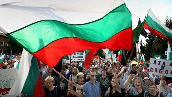 Протест националиста у Бугарској - Sputnik Србија