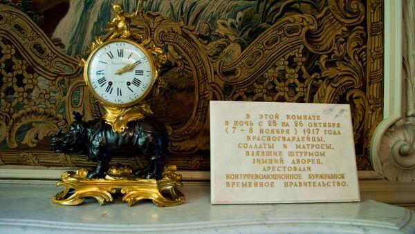 Časovnik u Maloj trpezariji u Ermitažu - Sputnik Srbija
