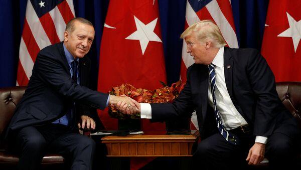 Ердоган и Трамп - Sputnik Србија