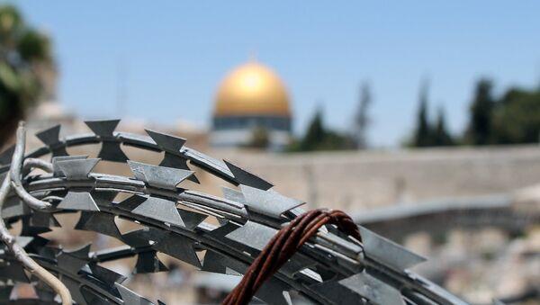 Бодљикава жица у Јерусалиму у Израелу - Sputnik Србија