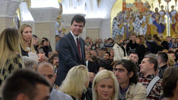 Reditelj Boris Malagurski na premijeri filma Kosovo: momenat u civilizaciji - Sputnik Srbija