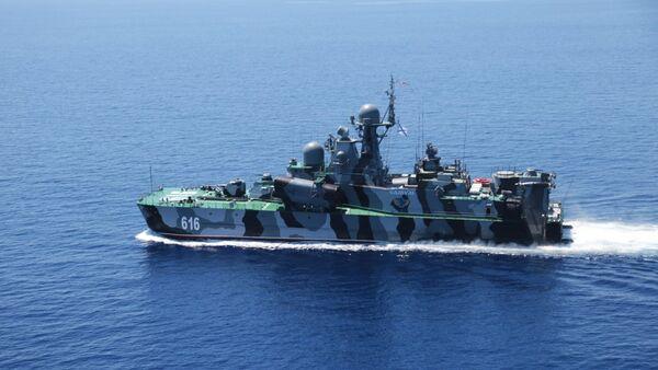 Ruski raketni brod Samum - Sputnik Srbija