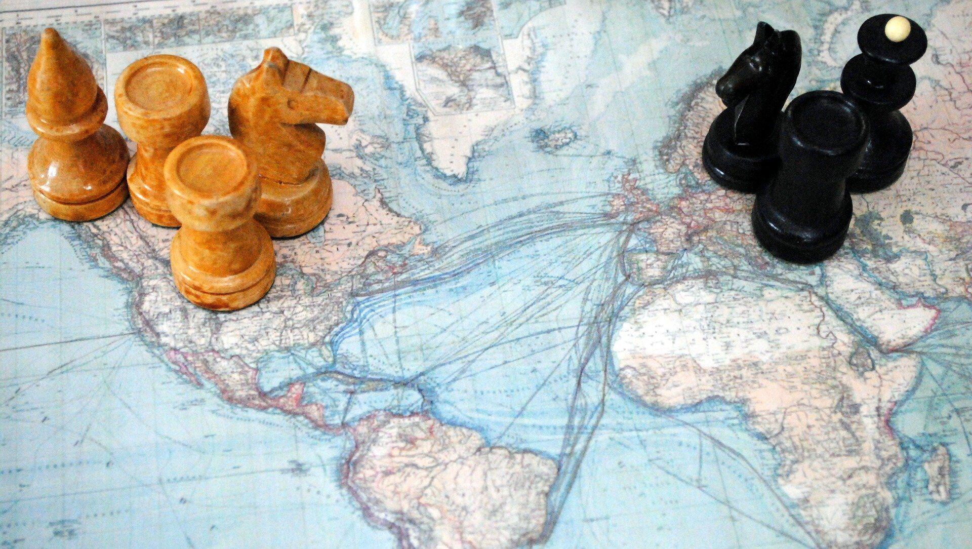 Шаховске фигуре на карти света - Sputnik Србија, 1920, 21.06.2021