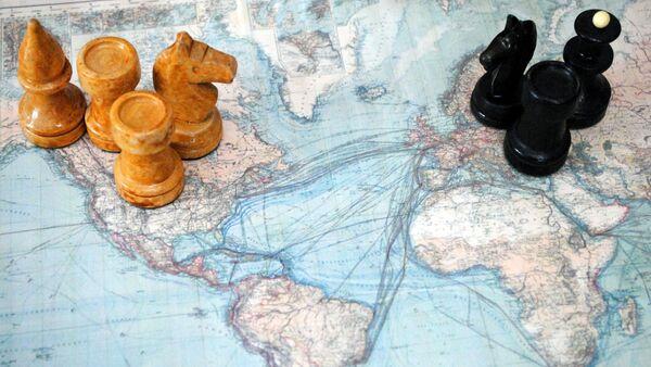 Шаховске фигуре на карти света - Sputnik Србија