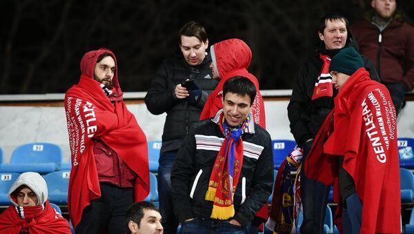 Акција гостопримства за навијаче Манчестер јунајтеда - Sputnik Србија