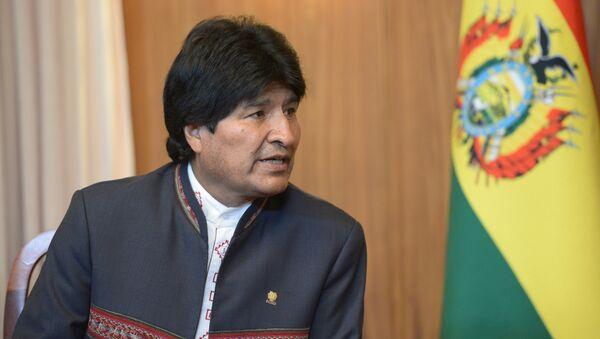 Председник Боливије Ево Моралес - Sputnik Србија