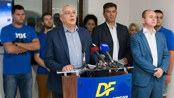 Andrija Mandić i Nebojša Medojević - Sputnik Srbija
