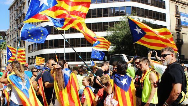 Демонстрације у Барселони - Sputnik Србија