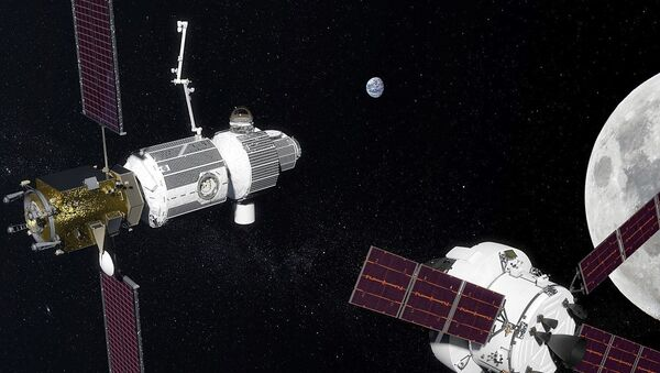 Lunarna orbita Deep Space Gateway - Sputnik Srbija