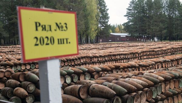 Програм уништавања хемијског оружја у Русији - Sputnik Србија