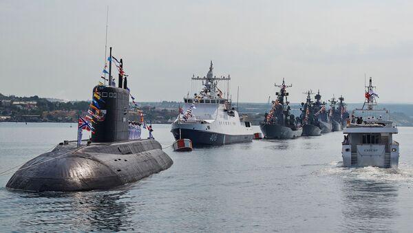 Parada brodova u Sevastopolju - Sputnik Srbija