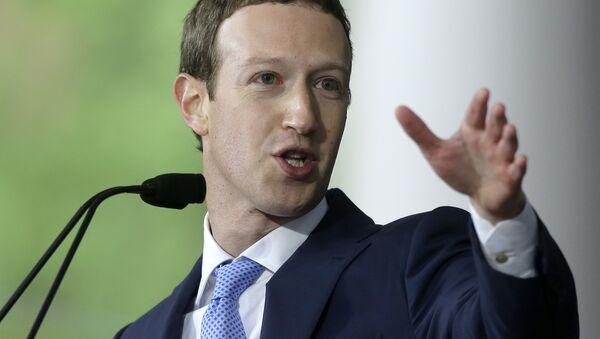 Оснивач Фејсбука Марк Цукерберг - Sputnik Србија