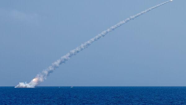 Ispaljivanje raketa kalibar na terorističke ciljeve u Siriji - Sputnik Srbija