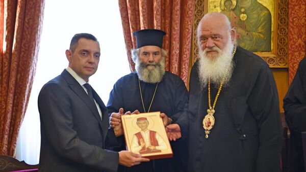 Arhiepiskop atinski i cele Grčke Jeronimus - Sputnik Srbija
