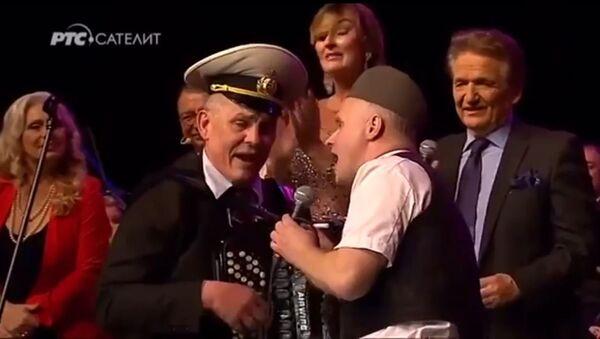 Солиста хора Александров Сергеј Путилин на концерту Банета Ђокића - Sputnik Србија